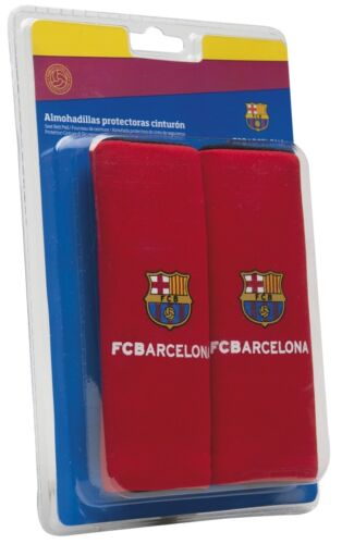 Official FCB Barcelona Child Car Seat Red Comfort Safety Harness Seat Belt Pads