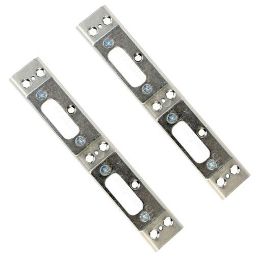 2 X Upvc Door Keep Double Shootbolt French Patio Doors Lock Yale