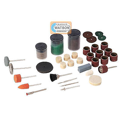 105 Piece Rotary Hobby Accessory Kit Dremel Compatible Multi Tool Accessories