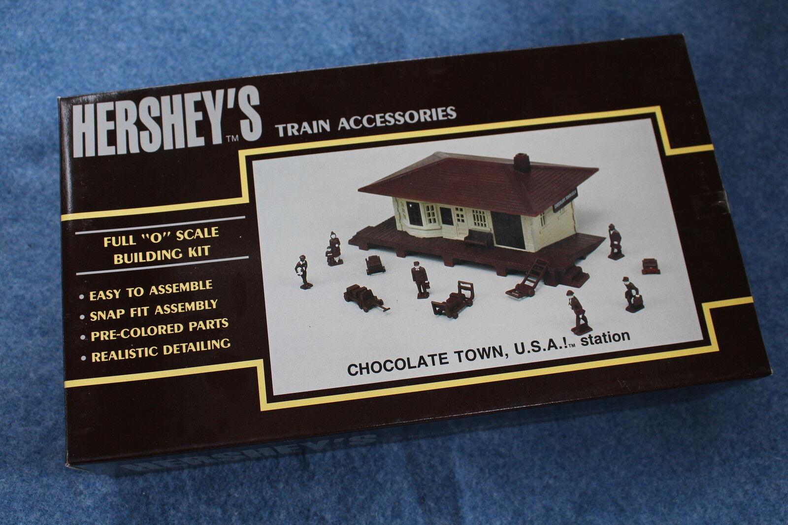 1992 K-Line  K40312 Hershey's Chocolate Town USA Station Building Kit NIB L2624
