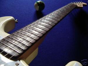 Scalloping-IHRER-E-Gitarre-dunkles-Griffbrett-21-22-Bde-Malmsteen-Blackmore