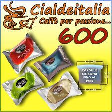 600 capsule caffè ESPRESSO ITALIA A SCELTA per MOKONA e TAZZONA BIALETTI