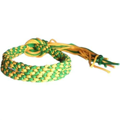 GREEN /& YELLOW MUAY THAI KICKBOXING BOXERS RANKING ARM BANDS