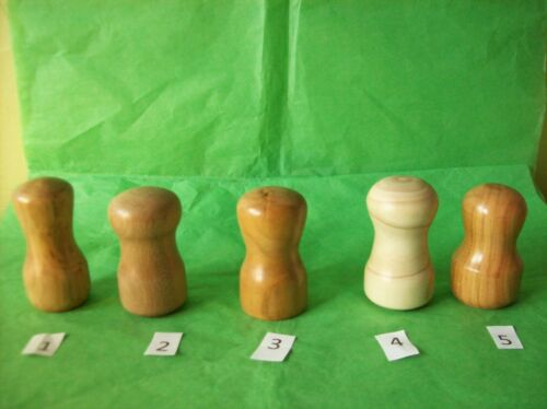 Irish Wood Palm Mini Gavels