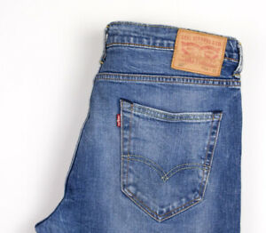 Levi-039-s-Strauss-amp-Co-Hommes-520-Slim-Jeans-Extensible-Taille-W34-L24-AMZ1190