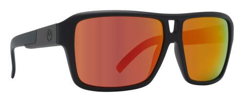 Dragon The Jam Matte Black w// Red Ion LumaLens Sunglasses Free Express Post