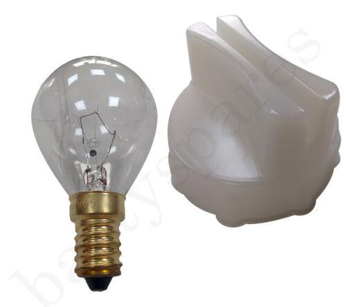Pour Bosch Neff Cuisinière Four Verre Lampe Couvrir /& outil de suppression 40 W SES 300 DEG Ampoule