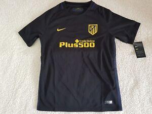 Atletico-Madrid-camiseta-Nike-2016-17-tamano-de-ninos-XS-M-L-XL-nuevos-ninos
