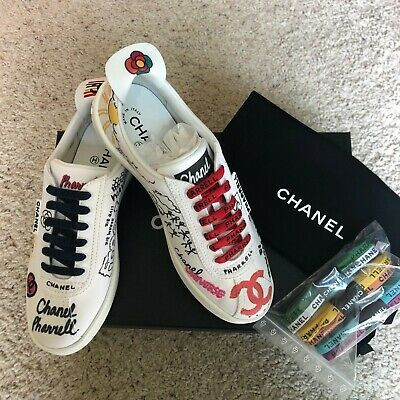 online store bf63b 2c097 CHANEL PHARRELL Capsule Collection Collab Sneakers **SOLD OUT WORLDWIDE**  EU 39 | eBay
