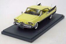 """NEO SCALE MODELS 44090 - Dodge Custom Royal Lancer Hardtop """"2 door"""" 1959 - 1/43"""