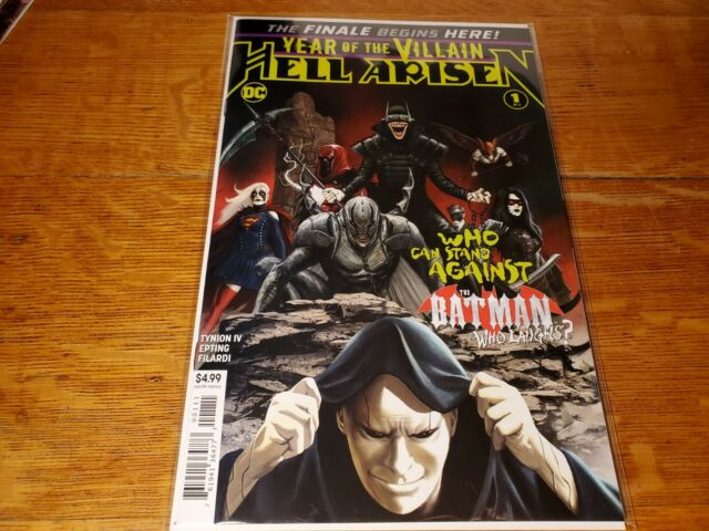 YEAR OF THE VILLAIN HELL ARISEN #1 (OF 4) BY DC!! NEW!!