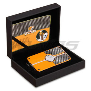 Gift-COHIBA-Classic-3-TORCH-JET-FLAME-CIGAR-CIGARETTE-Metal-LIGHTER-with-PUNCH