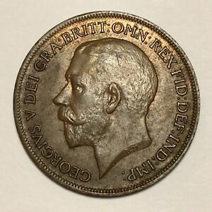 1920-Great-Britain-Penny-George-V-KM-810-UNC-2675