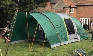 Coleman Valdes 4 AIR Family Tent XXL Inflatable WeatherTEC bundle +++