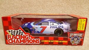 1998-Racing-Champions-1-24-NASCAR-Geoff-Bodine-Philips-World-Com-Ford-Taurus-7