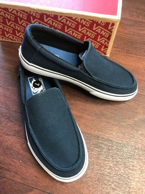 0729ed0807 VANS Bali SF Heavy Canvas Mens Blue Canvas Slip on SNEAKERS Shoes 7 ...