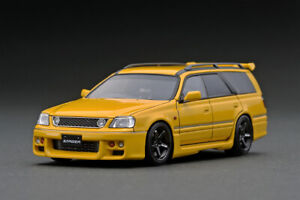 1:43 Nissan Stagea 260RS (WGNC34) -- Yellow -- Ignition Model IG2080