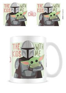 Boxed Ceramic Gift Mug - The Mandalorian 2 The Kids with me - MG26213