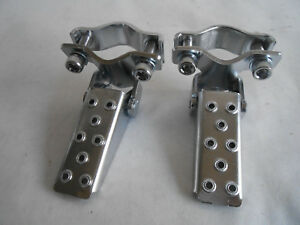 Old-School-BMX-Fork-Standers-New-Chrome-GT-80-039-s-Type-folding