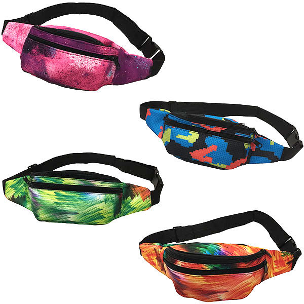 New Waist Fanny Pack Belt Bag Pouch Travel Hip Bum Bag Purse Womens Digital