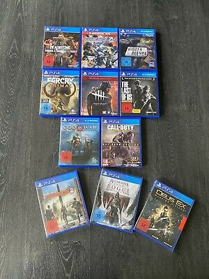 Ps4 Spiele Sammlung