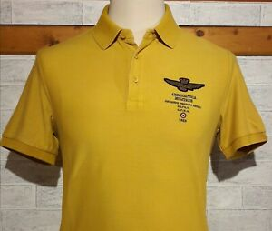 Wash Mm Piquet Militare Yellow Aeronautica Polo TgXxl Stone A3j4R5Lq