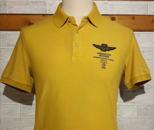 Mm Stone TgXxl Piquet Yellow Wash Aeronautica Polo Militare 8mN0nvw