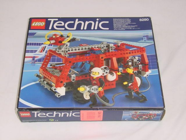 Lego Technic Fire 8280 Fire Engine  NEW Sealed Ships WORLD WIDE