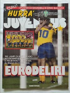 HURRA-039-JUVENTUS-N-5-MAGGIO-1993-MAXI-POSTER-RAVANELLI-E-DINO-BAGGIO-ROBERTO