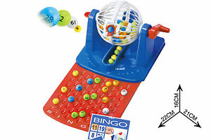 Classic Bingo Lotto Game Toy Set For Family Lottery Board Game