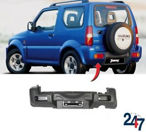 NEW-SUZUKI-JIMNY-2006-2018-BARE-PLAIN-REAR-BUMPER-COVER-7181181A105PK