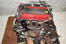 jdm mitsubishi lancer evo 4 iv 4g63t dohc turbo 2 0l engine toyota wiring harness mitsubishi 2 4 engine wiring harness #12