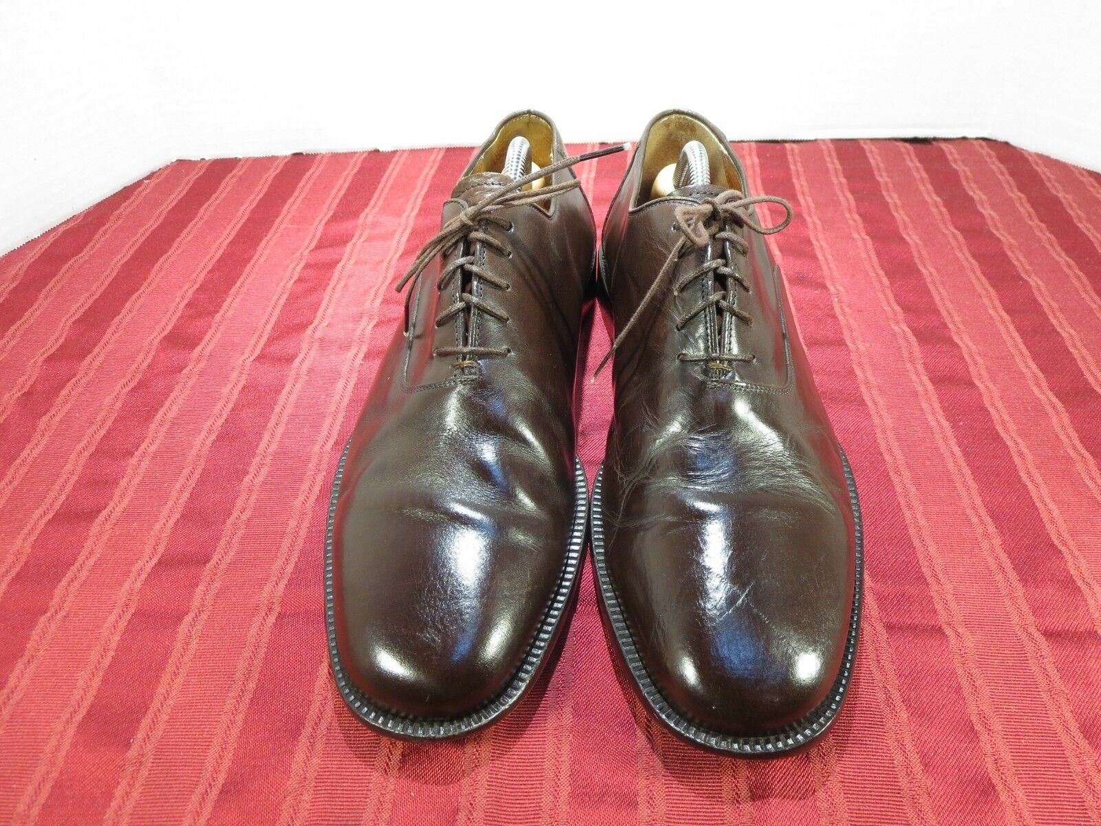 Sandro Muscoloni Gage Brown Leather Dress Oxford shoes Men Size 11M