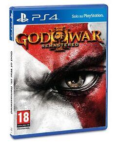 GOD-OF-WAR-3-REMASTERED-PS4-VIDEOGIOCO-ITALIANO-PLAYSTATION-4-GIOCO-UK-NUOVO