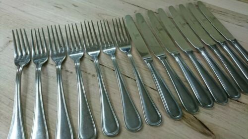 16pc set Stanley Rogers Clarendon 18//10 Stainless Cutlery Entree Knive and Fork
