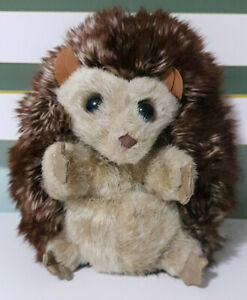 Folkmanis-Hedgehog-Plush-Toy-Puppet-Super-Cute-Reversible-Toy-17cm-Tall