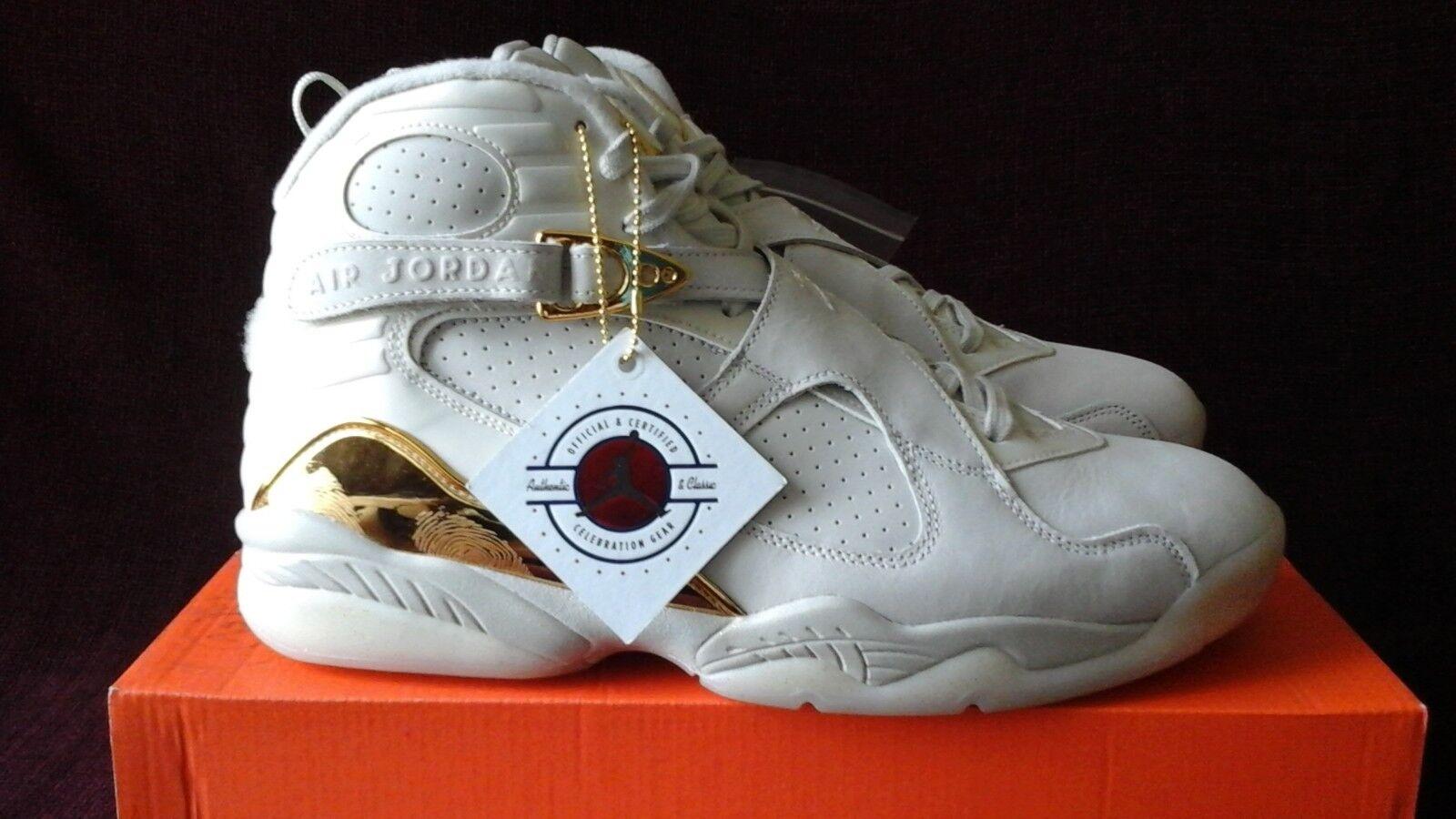 Nike Air Jordan 8 Retro C&C Champagne B Grade 832821-030