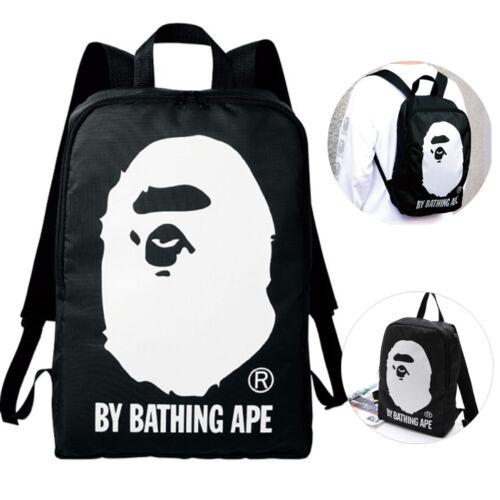 Bape A Bathing Ape Sac à Dos toile École Voyage Trésor Sac magazine Japon