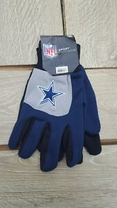 9d7638e800c Image is loading Dallas-COWBOYS-Sport-Utility-Gloves-NFL-by-Forever-