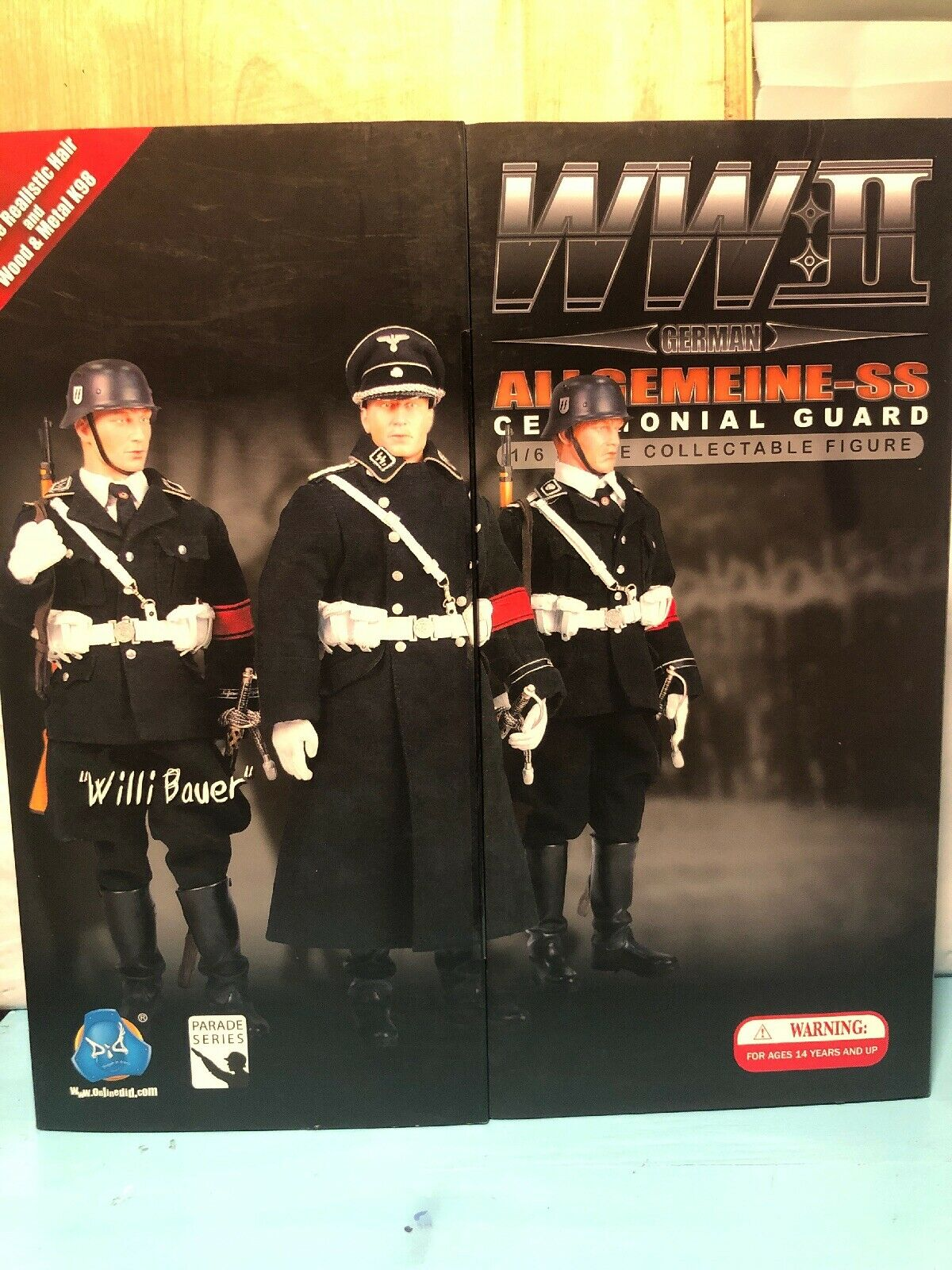 WWII ALLGEMEINE SS CEREMONIAL GUARD 1 6 Scale Willie Bauer