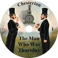 The Man Who Was Thursday, Mystery Audiobook By K Chesterton On 6 Audio Cds