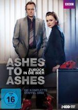 K.HAWES/D.ANDREWS/+- ASHES TO ASHES:ZURÜCK IN DIE 80ER STAFFEL 3 3DVD SERIE NEU