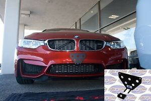 Image is loading 2015-2018-BMW-M2-M3-M4-Removable-Front- & 2015 - 2018 BMW M2 M3 M4 Removable Front License Plate Holder ...