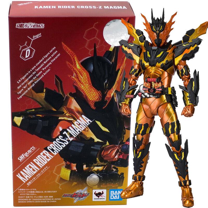 Beai Tamashii Limited  S.H.Figuarts Kamen Rider Build Cross-Z Magma cifra  autentico