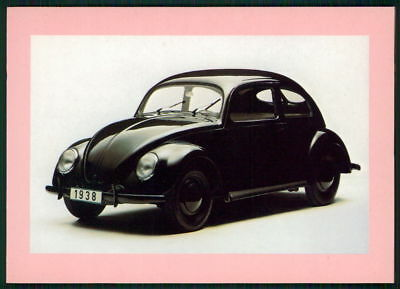 Auto Vw KÄfer Alte Ansichtskarte Original Postcard Car Vw Beetle M1318 Und Ein Langes Leben Haben.