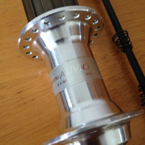 SHIMANO ALIVIO QR HUB MC10 FRONT or REAR 7 SPEED CASSETTE with SKEWERS MC10 RARE