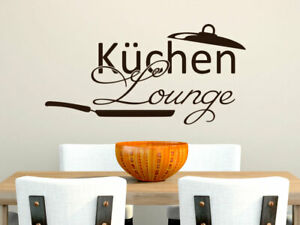 Wandtattoo Küche Lounge Pfanne Aufkleber Wanddeko Esszimmer lustig ...