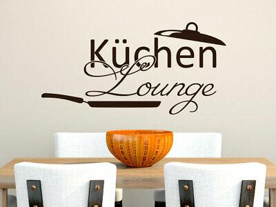 Wandtattoo Kuche Lounge Pfanne Aufkleber Wanddeko Esszimmer Lustig Wandaufkleber Ebay