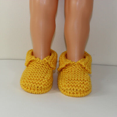 PRINTED INSTRUCTIONS-TODDLER CHUNKY SLIPPERS KNITTING ...