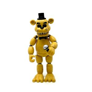 Funko-Five-Nights-at-Freddy-039-s-Articulated-Golden-Freddy-5-034-Action-Figure-FNAF